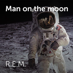 R.E.M. - Man on the moon | Sheet music for choirs and a capella