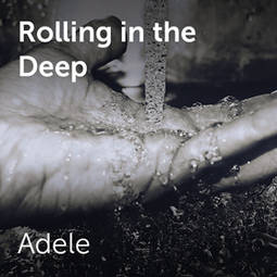 Adele - Rolling in the deep | Sheet music for choirs and a
