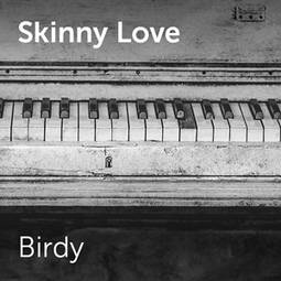 how to play skinny love on piano