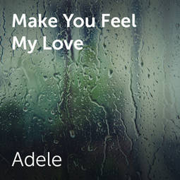 Adele Make You Feel My Love Bladmuziek Voor Koren En A Capella